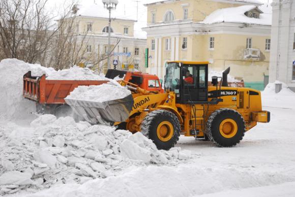 Власти Воркуты надеются купить снегоуборочную технику из Белоруссии