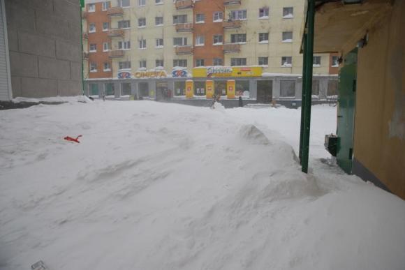 Власти и синоптики Воркуты разошлись в оценке выпавшего снега