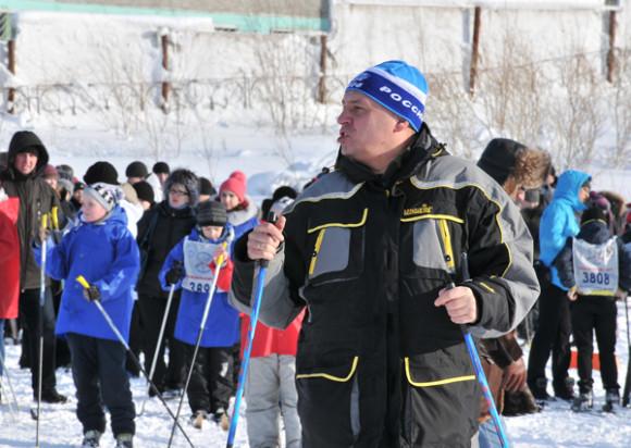Евгений Шумейко отправится на лыжах в сторону Инты