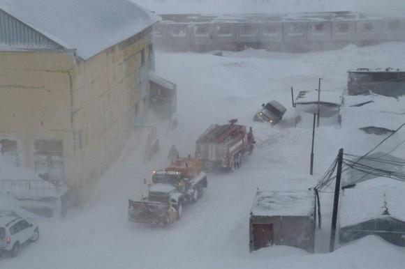 Непогода прибавила проблем жителям Воркуты
