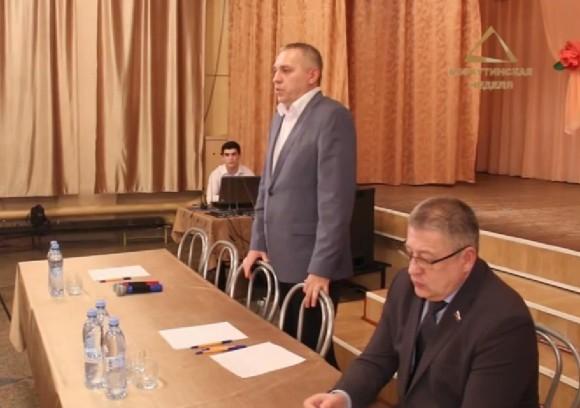 Евгений Шумейко встретился с жителями Заполярного
