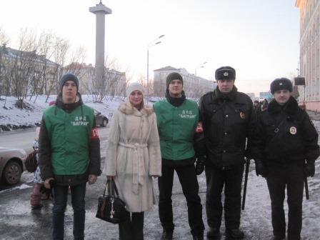 На помощь полиции Воркуты пришли студенты