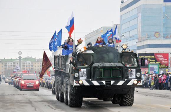 Воркута отметила День Победы