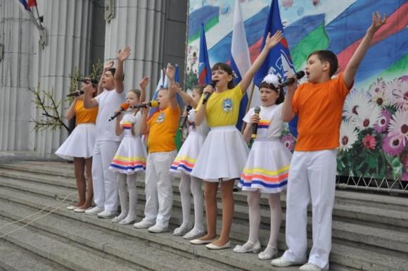 Воркута отметит День России в парке