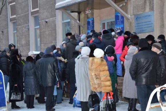 Жители Воркуты атаковали филиал банка ВТБ24