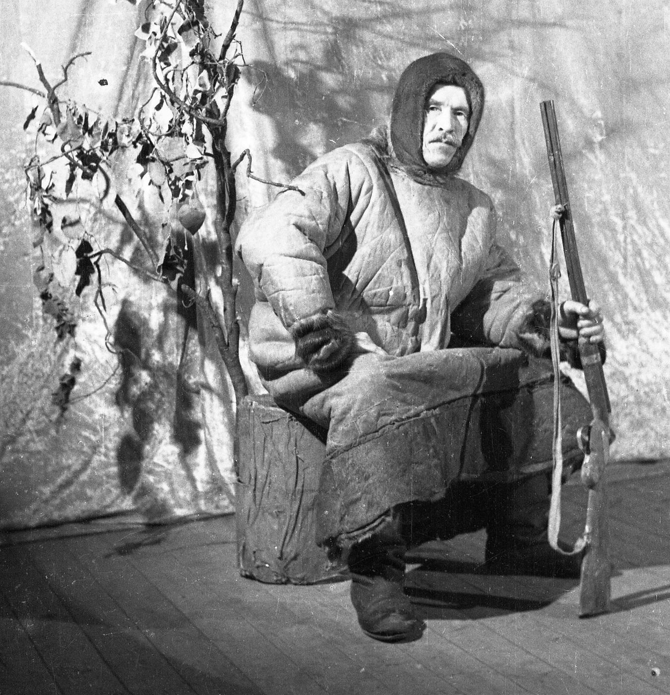 Попов В.Я-коми-охотник 1950-е