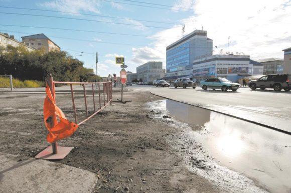 Дорожники Воркуты справились только с половиной запланированного объема работ
