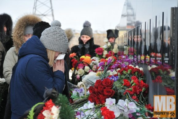 В Воркуте вспоминают жертв аварии на шахте «Северная»