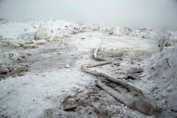 В Воркуте идут работы по локализации задымления на городской свалке